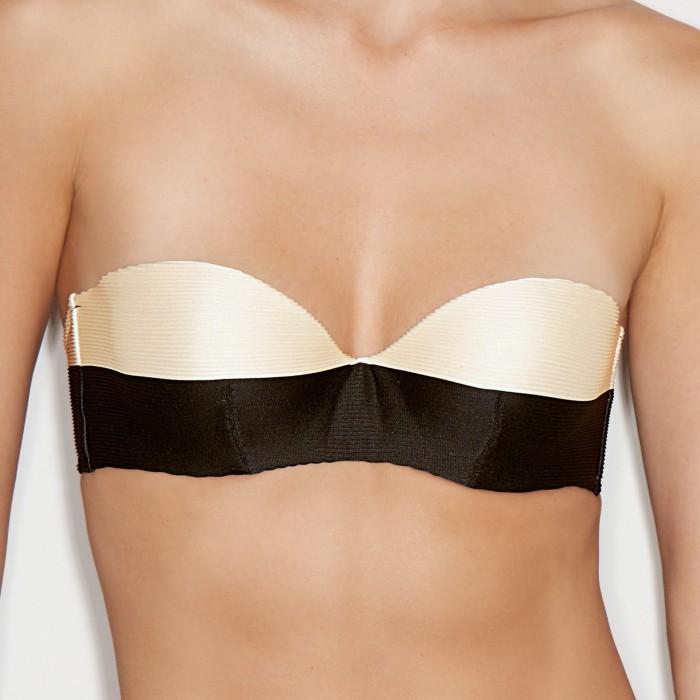 Bikinis rayés, soutien...