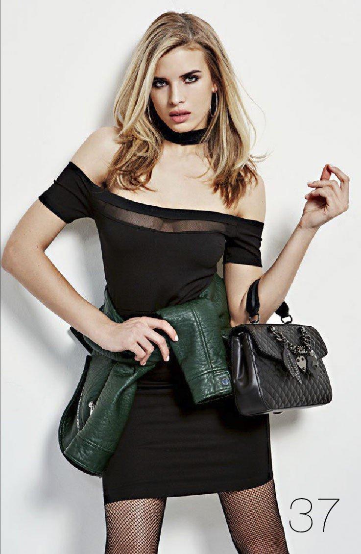 66d21dae5 BLACK SLIM FIT SHORT DRESS- GUESS WOMEN with discounts- 24h- GUESS-DRESSES -Viborg-Dresde-Copenhague