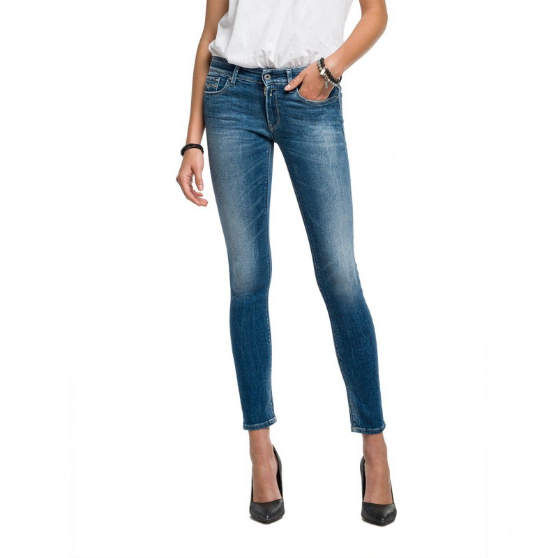 LUZ SKINNY- FIT REPLAY JEANS for REPLAY WOMEN