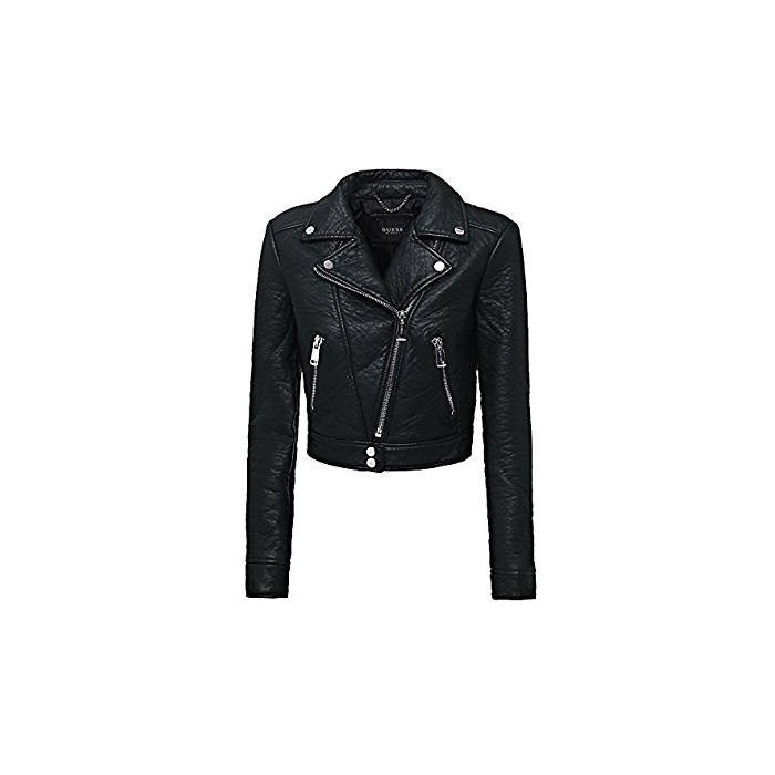 Veste noire faux cuir...
