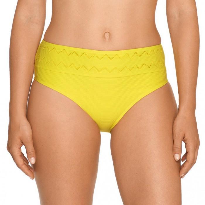 Bikinis jaunes, slip haute...