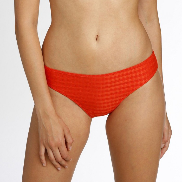 Bikinis orange, bikini slip...