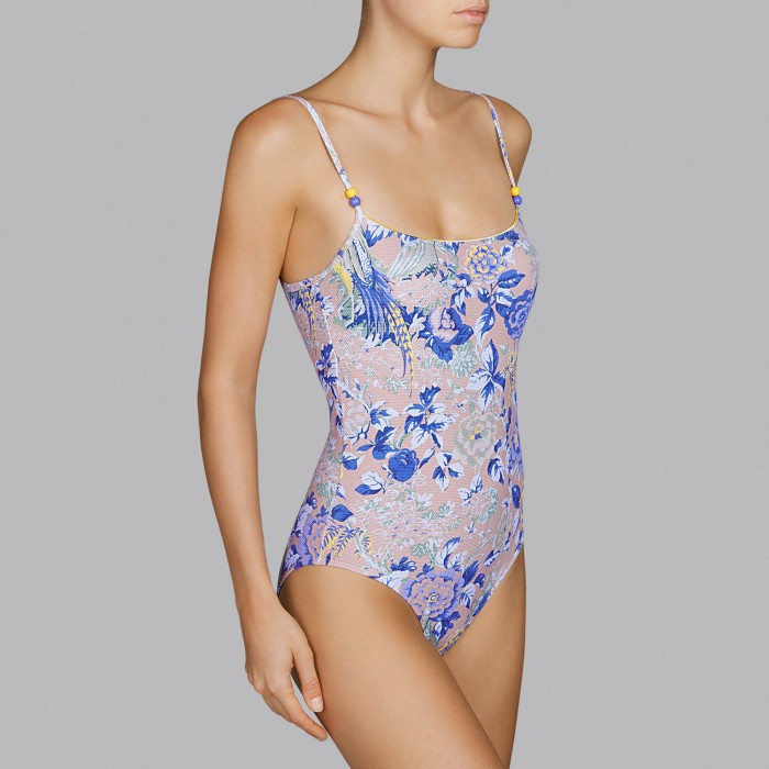 Flower swimsuits, padded...