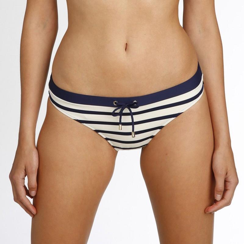 Bikinis a rayas marineras azules,  braga bikini- Baño Catherine azules 2018 online