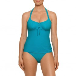 Turquoise Blue Tankini, wire not padded- Nikita blue