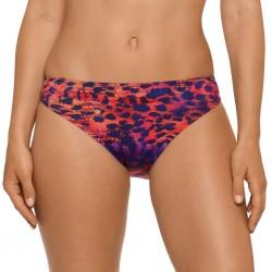 Bikinis animal print, brown, violet snake, wire not padded- Karma amatista