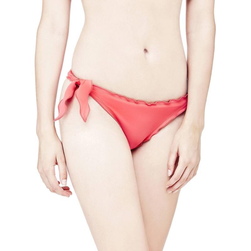 Bikinis coral lazos Guess- Braguita coral mujer guess baño