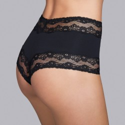 Black hight brief - Andres Sarda 2018 Verbier black, black underwear