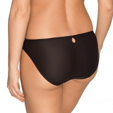 Slip bikini noire grandes tailles lingerie- A La Folie noire body Primadonna 2018