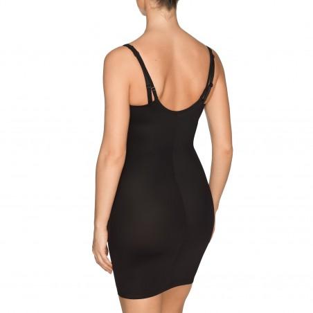 Robe silhouette remodelée noire grandes tailles lingerie- A La Folie noire body Primadonna 2018