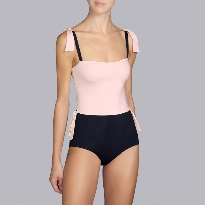 Black Swimsuits two pieces - Swimsuits padded, Andres Sarda Belle Pink Stick and Black 2019