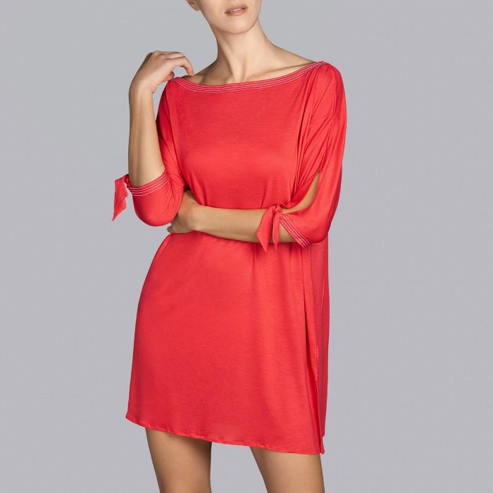 Red Summer dresses 2019 - Red dresses, Tane Andres Sarda 2019,vestidos verano