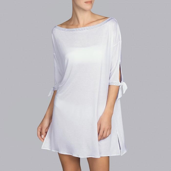 Vestidos Blancos de Verano - Vestidos Blancos, Tane Andres Sarda 2019, vestido ibicenco
