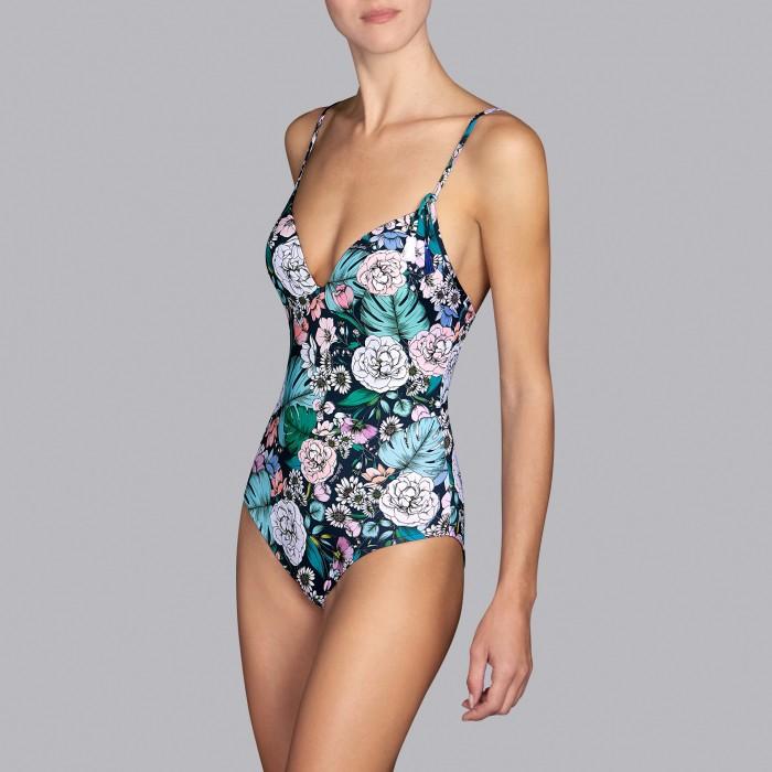 Flower swimsuits - Padded triangle flower swimsuits Shelter romantic garden V , Andres Sarda , Summer 2019