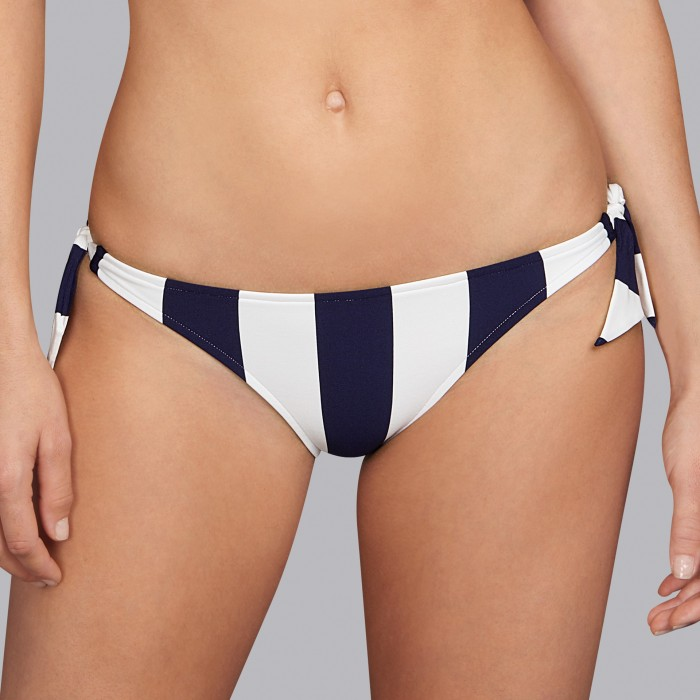 Striped Blue Bikinis, tie side bikni brief- Andres Sarda Azura 2019 Bikinis