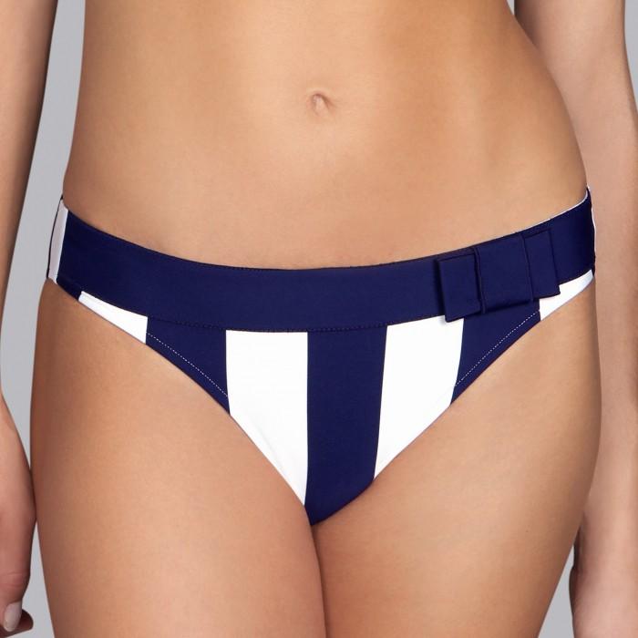 Bikinis a rayas azules, braga bikini normal- Andres Sarda Azura 2019, bikini