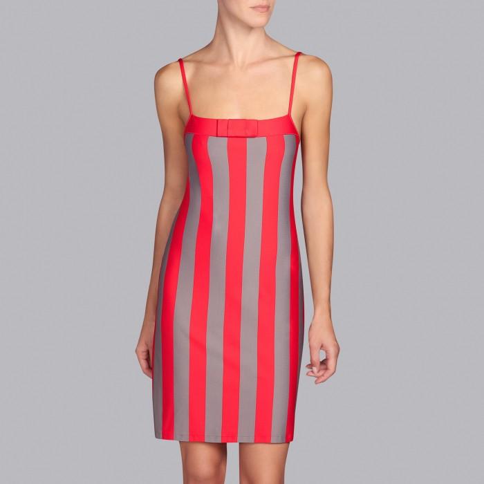 Striped Red beach dresses, Summer 2019 Azura fun red- Andres sarda 2019