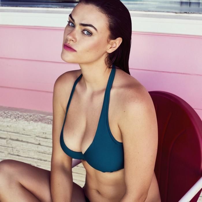 Padded triangle Blue bikinis, Big sizes , indigo blue- Cocktail Booboo- Primadonna Swimwear