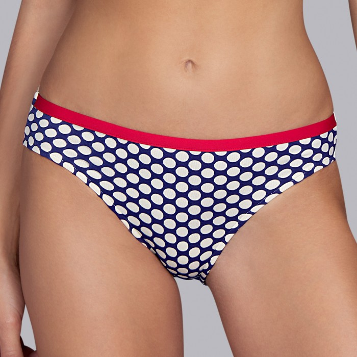 Bikinis blancs à  rayures, culotte de bikini- Wakaya marine- Andres Sarda, Bikinis 2019