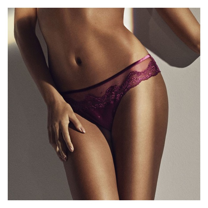Short lingerie- short culotte- Giotto Rouge Rioja Andres Sarda 2019, Lingerie Sexy