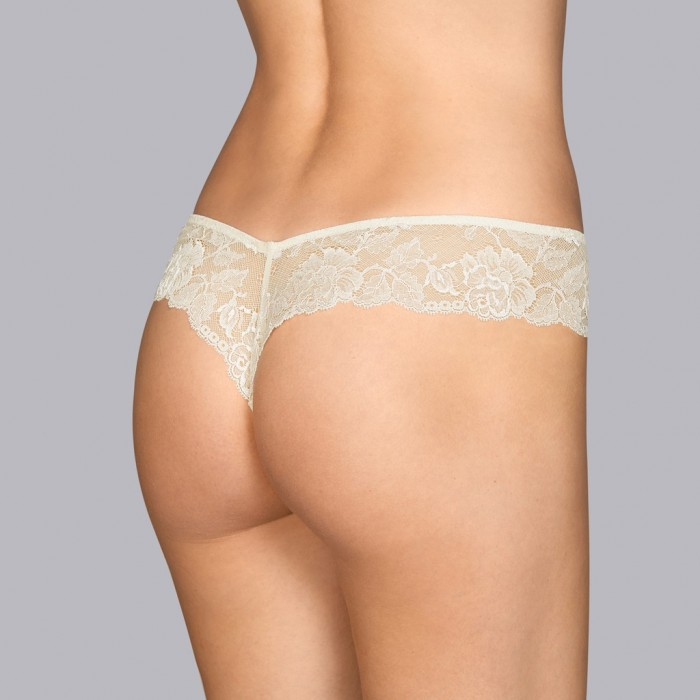 Bridal string- short thong- Vintage Tiziano Andres Sarda 2019, Lace bridal underwear