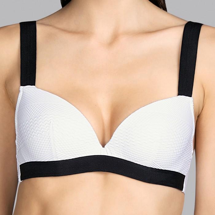 Padded White bikini Andres Sarda - White Mod padded bikini 2020