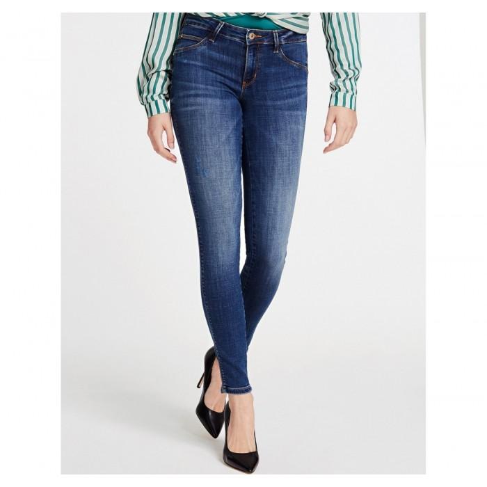 Jeans Guess, Curve X Melrose Jeans en bleu foncé.