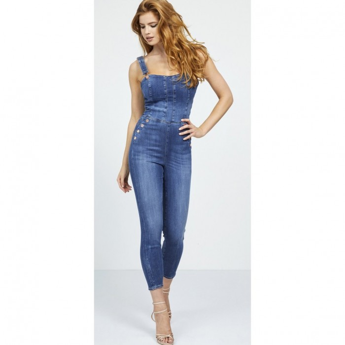Guess Fabric Jumpsuit. - Nora overall guess Jumpsuit