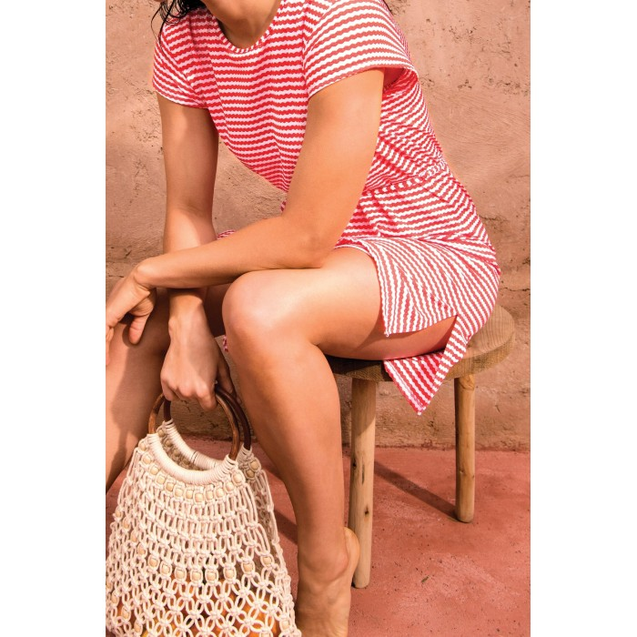 Summer dress red sizes large, beach dress , Primadonna Sahara Red 2020,