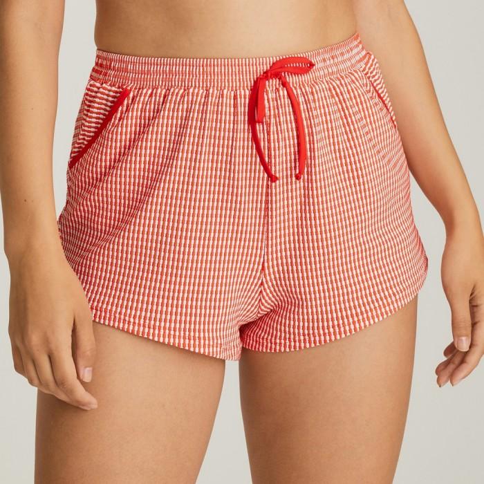 Short rojo tallas grandes, short playa , Primadonna Atlas Rojo Pimienta 2020,