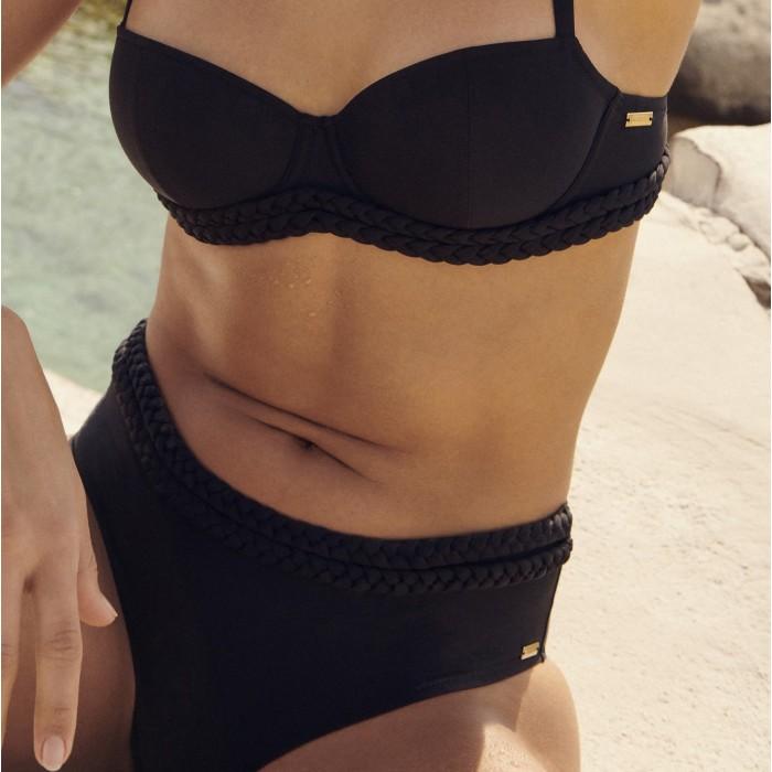 Black high Bikini brief - Black BLanche high Bikini brief  2020
