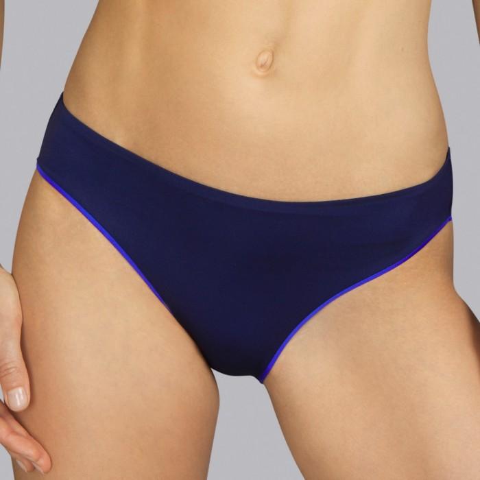 Bikini braga azul marino noche Andres Sarda - Bikini Boheme azul 2020