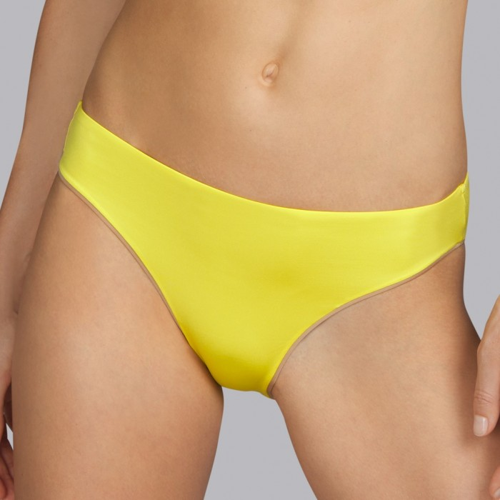 Maillot de bain jaune Andres Sarda - Bikini Boheme Soleil jaune 2020