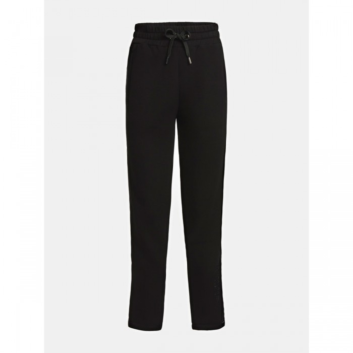 GUESS Satin sideband black pants- GUESS A VIGAIL PANTS