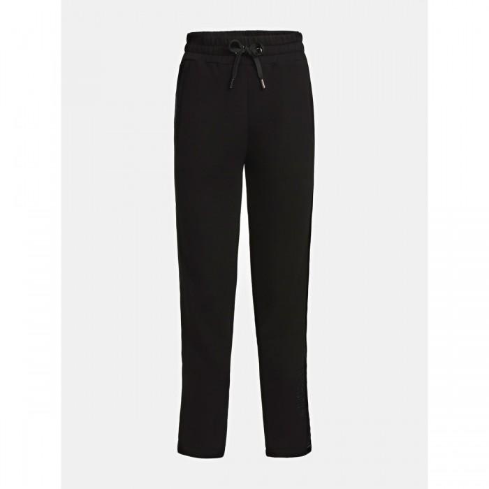 Pantalon noir Guess- VIGAIL PANTS bande laterale