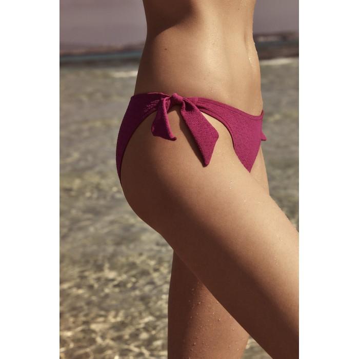 Bas de maillot de bain rose ANDRES SARDA- BIBA ROSE culotte liens BIKINIS noued femme 2021