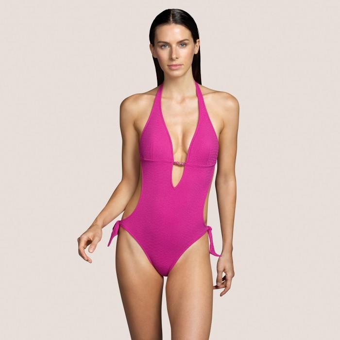 Trikini Rosa relleno ANDRES SARDA- BIBA ROSA Jacquard Trikini bañador Baño mujer 2021