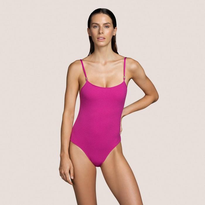 Bañador rosa con relleno ANDRES SARDA- BIBA ROSA Jacquard Bañadores Baño mujer 2021
