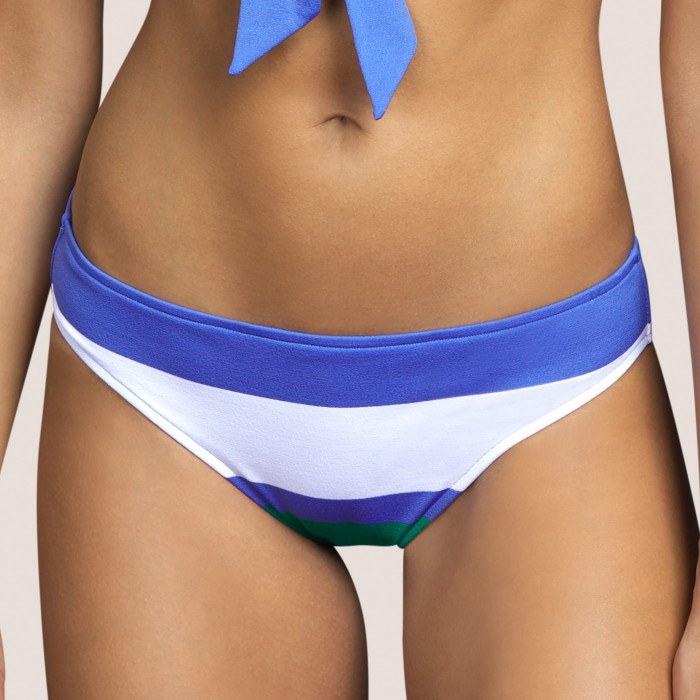 Blue striped bikini brief ANDRES SARDA, bikini panty- ELSA BLUE Bikini brief Swimwear 2021