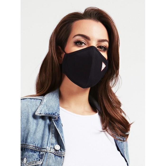 Masque noir Guess. Masque coton 100%