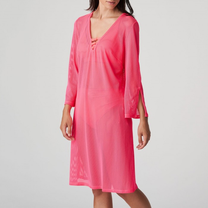 Kaftan robe de plage rose grande taille, Caftán sarong Primadonna Holiday Rose grande taille 2021