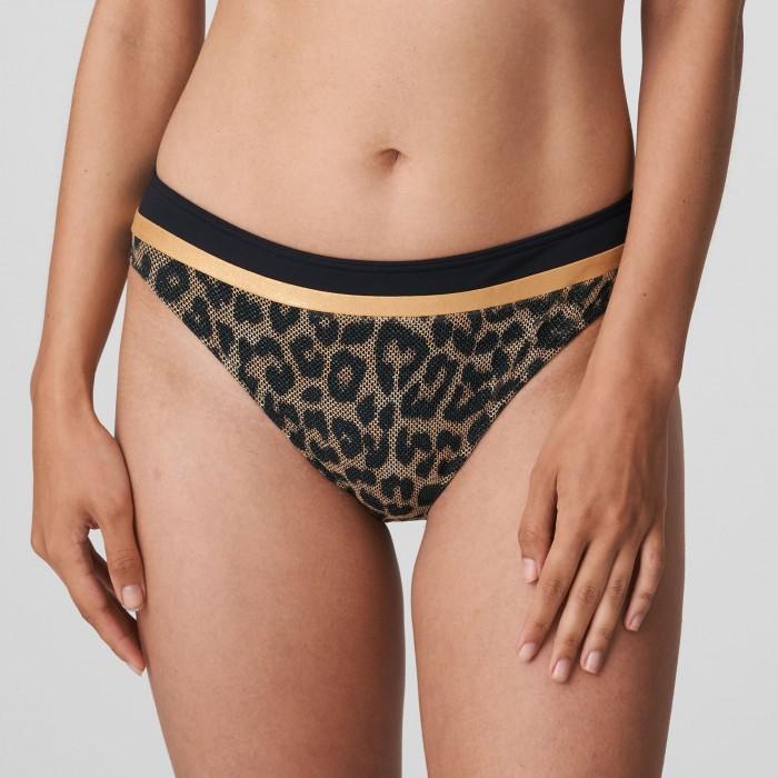 Bikini slip imprimé animalier, PRIMADONNA, culotte bikini-KIRIBATI Leopard, Bikinis grandes tailles 2021