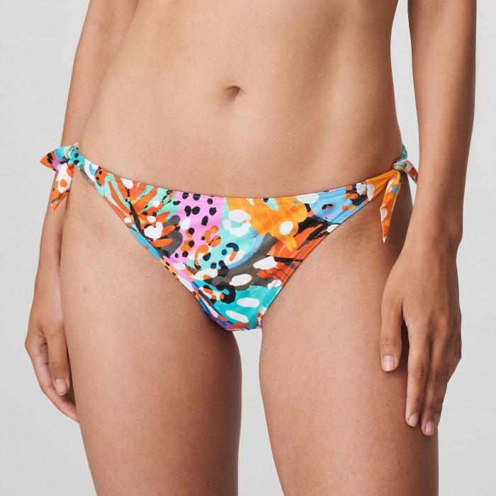 Bikini braga lazos tallas grandes, Primadonna Caribe bikinis tallas grandes 2021