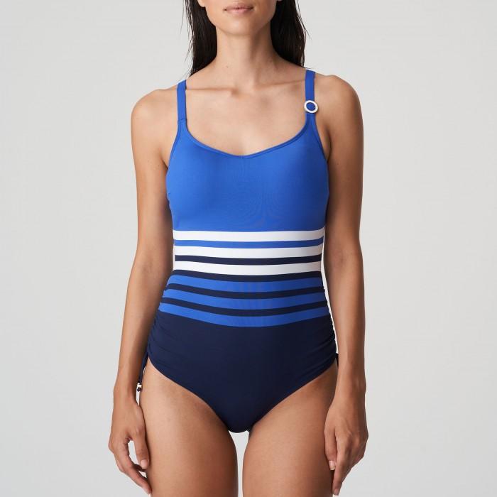 Bañador azul rayas con...