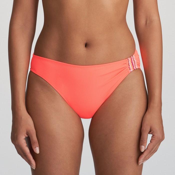 Bikini braga coral , bikini Isaura coral Verano 2021