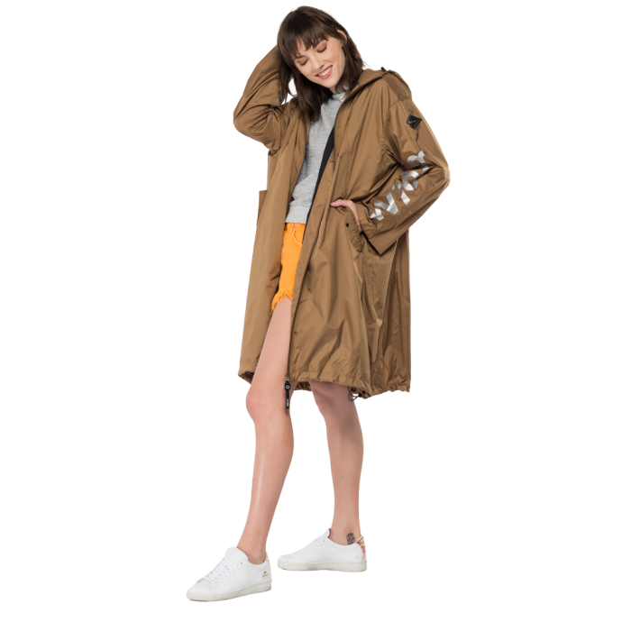 Parka longue Replay en...