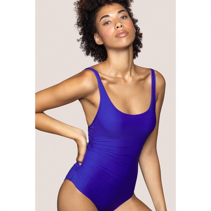 Blue padded swimsuit ANDRES...