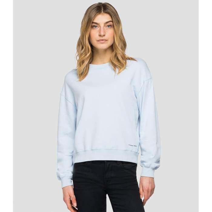 Sweatshirt pastel blue...