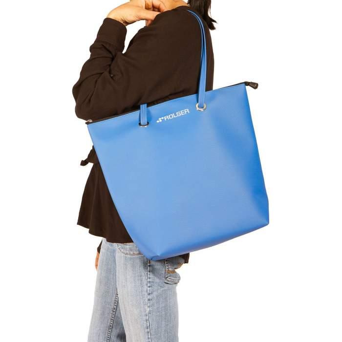 Bolso de playa , bolso azul...
