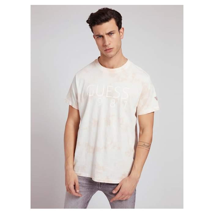 Pink Tie dye T-shirt short...